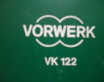 Vorwerk vk122 Regenerated in excellent good condition to give away