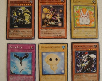 1996 Yu-gi-oh/ YUGIOH/ Mix Cards 1st Edition Six Cards