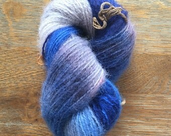 Kettle dyed vintage mohair