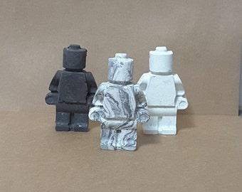 Concrete Figurine Man