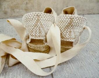 Sneakers laces Bianca ivory Folkke Vigatanes