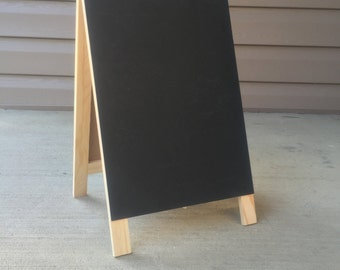 Customizable Handwritten Easel Chalkboard