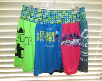 Race Shirt Running Skirt