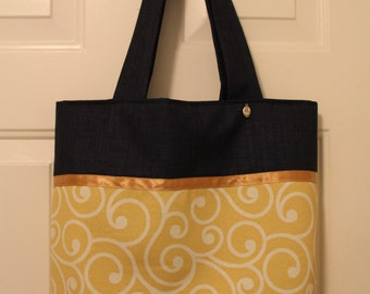 Yellow-Blue Tote