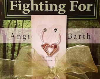 Christian Fiction Novel/Necklace Gift Set-Free Shipping (US, single address only)