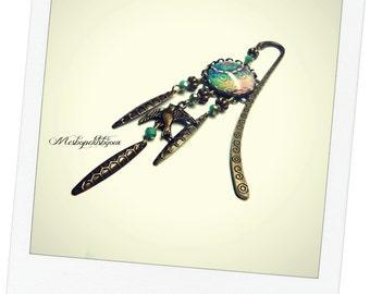 Bookmark jewel blue Bohemian spirit