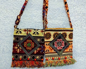 Pattern crossbody bags