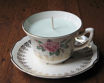 Treat Yourself Teacup Candle