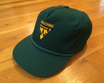 Wolverine rope hat forrest green cap yupong hat