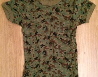 Vintage Camouflage top
