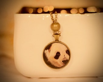 Panda Bear Pendant Necklace
