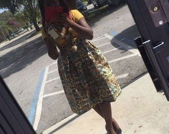 African style skirts