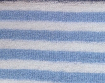 "Outdoor Blanket Throw with Fringe, 38 x 68"",  in Air Blue/White, Sand/White"