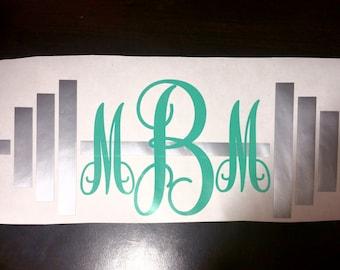Barbell Monogram (large)