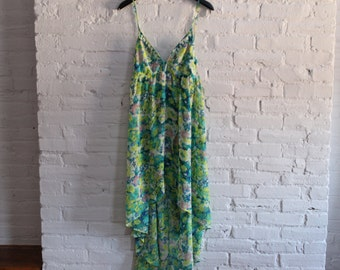 Totally sheer beach cover up dress