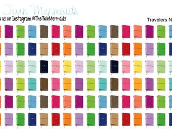 Travelers Notebook Planner Stickers
