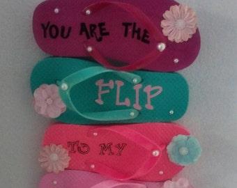 Cute flip flop hanging
