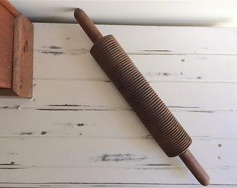 Wooden Rolling Pin, Kitchenalia, Wood Craft, Wooden, Rolling Pin, Hand Crafted, Hand Carved