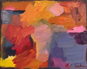 Composition in Orange 2