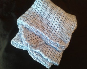 Comfortable and lightweight crochet afghan