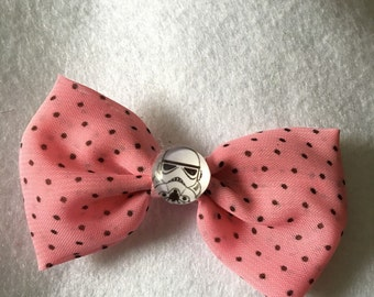 Stormtrooper Star Wars  bow hair clips