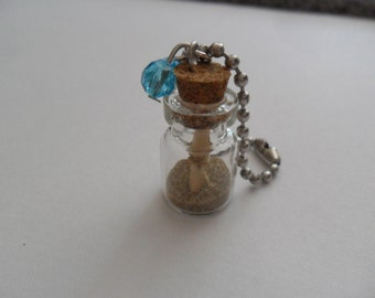 """Charm """"message in a bottle"""""""