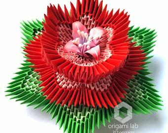 Origami 3D - Lotus Flower