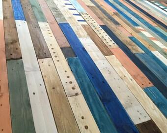 Wood paneling coating