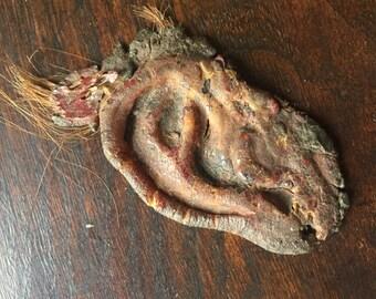 Vintage Macabre Custom Hand Made Latex Van Gogh Bloody Human Ear Prop