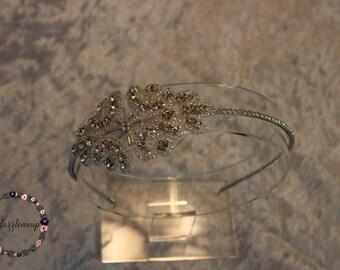 Vintage Wedding Hair Accessories - Wedding Headband - Bridal Headpiece - Beaded Headband - Bridal Headband - Wedding Headpiece