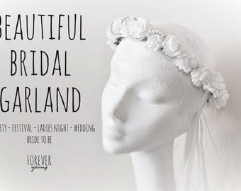 Bridal Head Garland