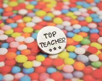 TEACHER GIFT brooch