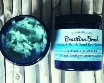 Himalyan salt Vodka Body scrub Organic body scrub vegan body scrub organic beauty brazilian beach sand and salt scrub