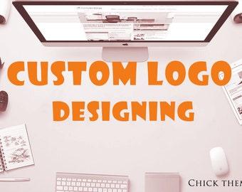 Custom Logo Design, Web site Logo,  Logo for Personal Web Site