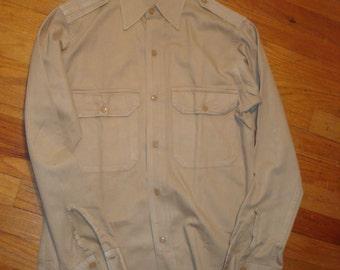 WWII Era Officers Khaki shirt