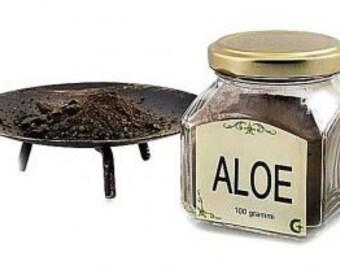 AGAR or ALOES - resin
