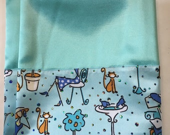 Satin Pillowcase Set - these stay on your pillows