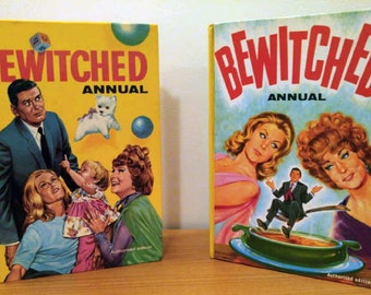 Set of Bewitched British Annuals: Jarrold & Sons Ltd. 1966–67
