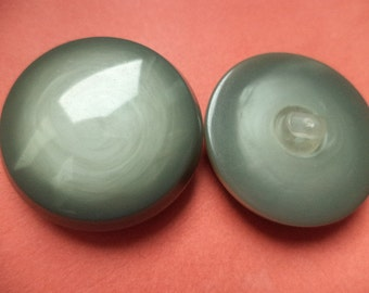 7 large grey buttons 29mm (6488) button coat buttons jacket buttons