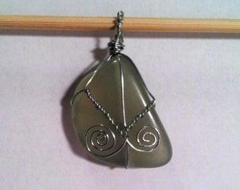 Double Swirl Pendant