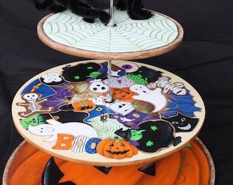 Halloween Cookie/Cupcake Holder E-Pattern