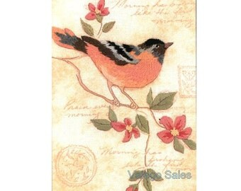 Dimensions Embroidery Kit - Crewel Embroidery Kits - Dimensions Minis Kits - Elegant Oriole - Birds- #06237