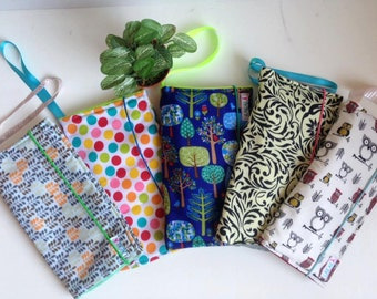 Diaper Clutch, Diaper case, Travel Wipes Case, Diaper Pouch