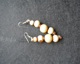 Beige earrings (19)