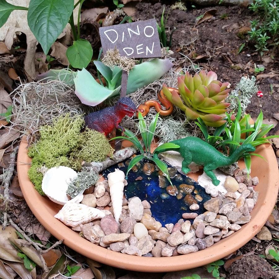 Dinosaur garden kit fairy garden supplies fairy kits fairy for Fairy garden kits