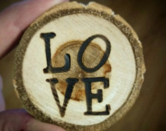 LOVE Magnets//Wedding Favors//Wedding Gifts//Engagement