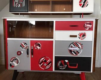 Fabulous vintage retro sideboard/drinks cabinet