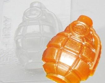 Grenade plastic mold, grenade soap, men soap, men mold, weapon plastic mold, gun mold, firearm mold, arsenal mold, pistol plastic mold
