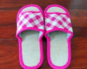 Hand made Women Flax Slippers Linen Anti-slip Slipper Indoor Flats Shoes