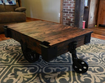 Coffee Table Factory Cart